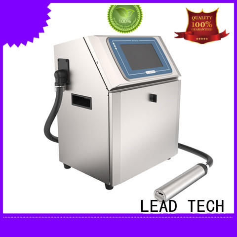 LEAD TECH dust-proof inkjet date code printer custom aluminum structure