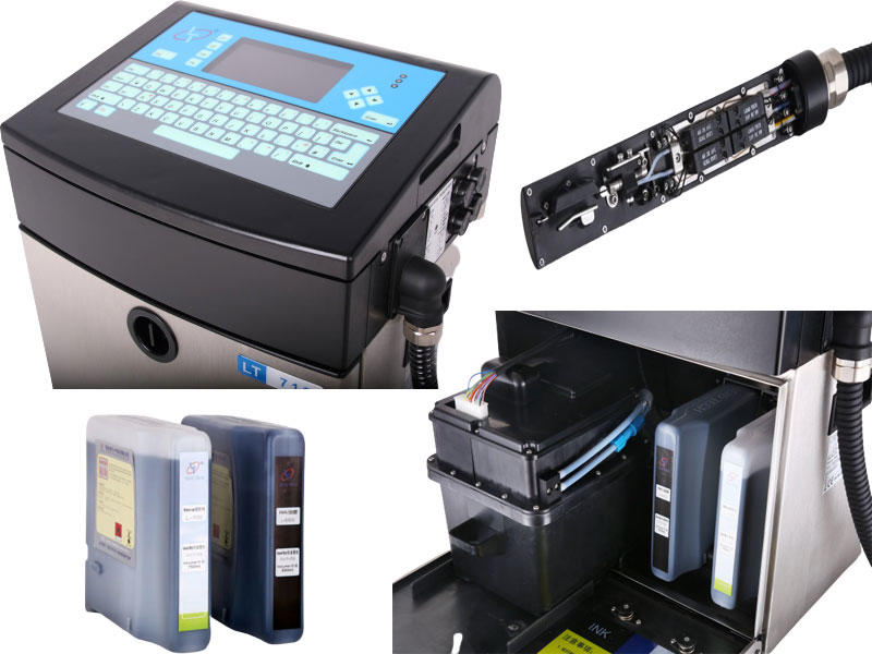 The structure of CIJ printer-Leadtech