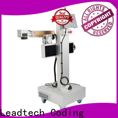 Leadtech Coding date printing machine on plastic bottle for business for pipe printing
