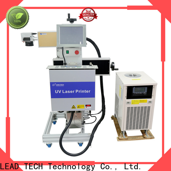 Leadtech Coding Top portable batch coding machine custom for tobacco industry printing