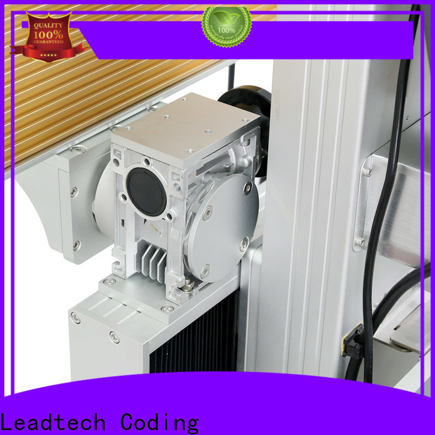 Leadtech Coding ribbon batch coding machine factory for auto parts printing