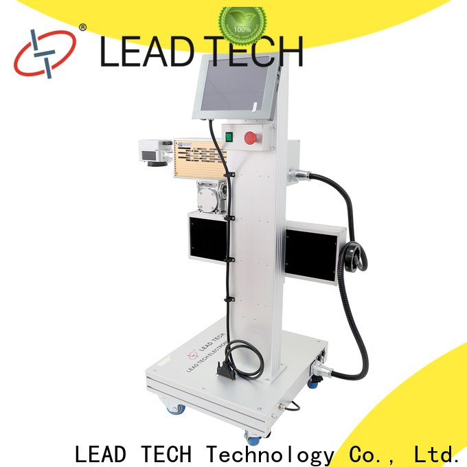 Leadtech Coding semi automatic batch coding machine manufacturers for auto parts printing