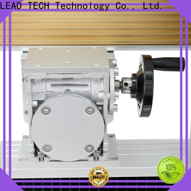 Leadtech Coding Custom semi automatic batch coding machine company for auto parts printing