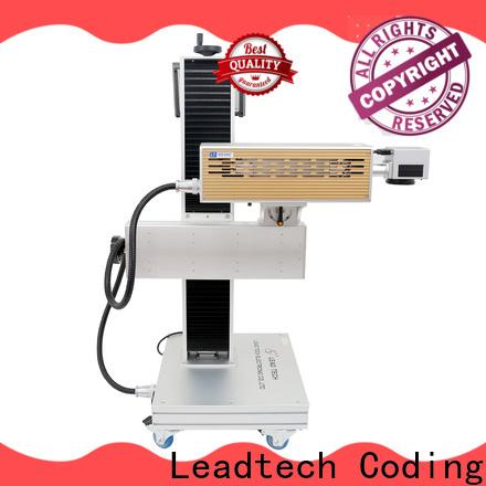 bulk leadtech inkjet printer custom for food industry printing