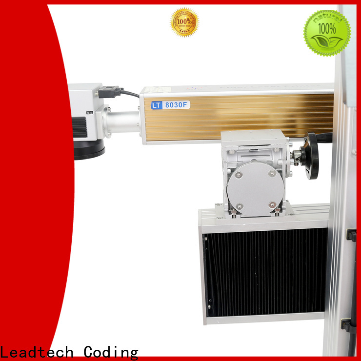 Leadtech Coding batch coding machine online professtional for pipe printing