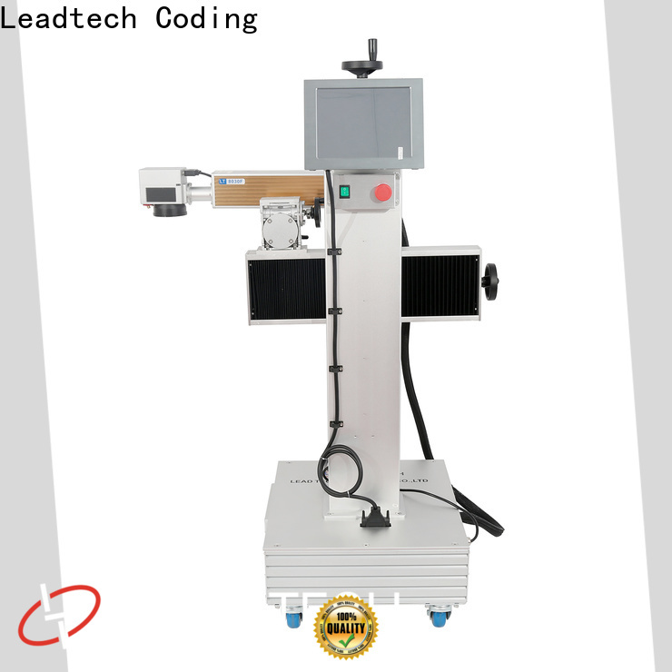 Leadtech Coding commercial mfg and exp date printing machine company for auto parts printing