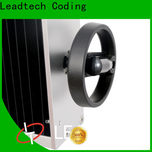 Leadtech Coding batch coding manual machine company for auto parts printing