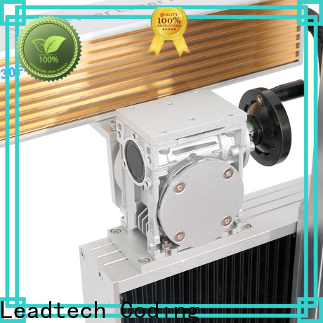 Leadtech Coding hot-sale inkjet batch coding machine for business for beverage industry printing