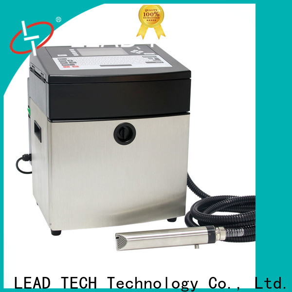 Leadtech Coding inkjet printer market OEM for daily chemical industry printing