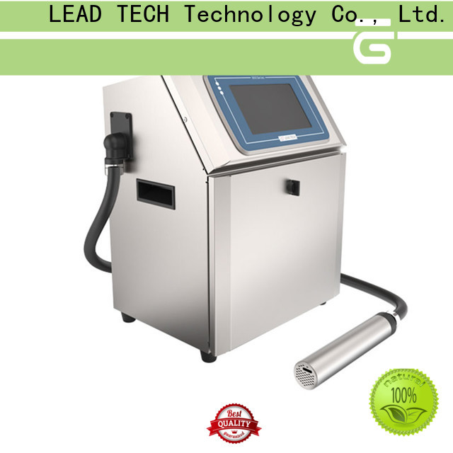Leadtech Coding small character inkjet factory for tobacco industry printing