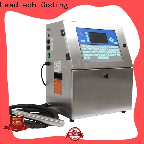 dust-proof expiry printing machine factory for tobacco industry printing