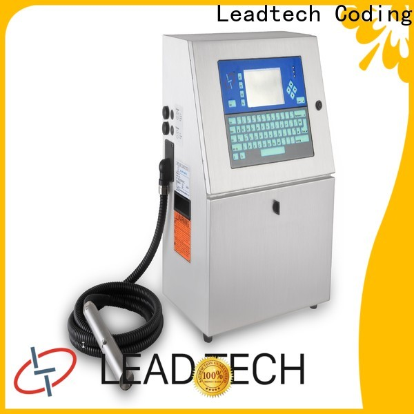 Leadtech Coding bulk batch code printer Suppliers for tobacco industry printing