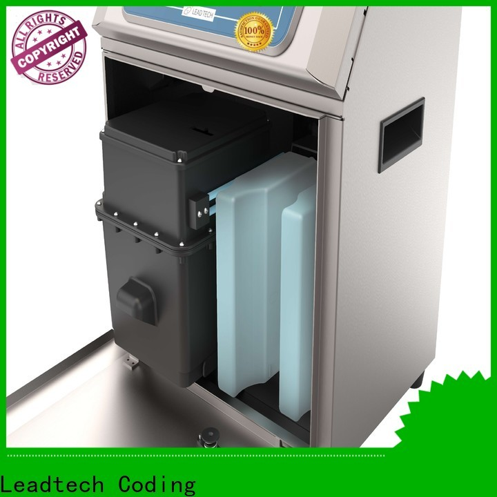 Leadtech Coding innovative batch code stamping machine for business for household paper printing