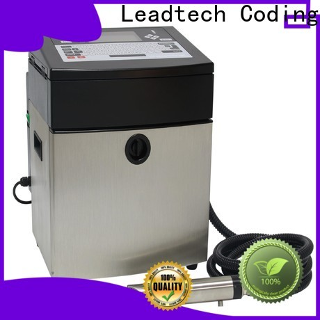 Leadtech Coding laser date printing machine company for tobacco industry printing