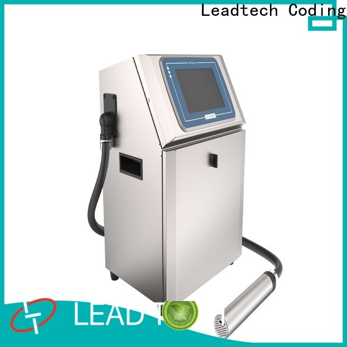 Leadtech Coding pet bottle batch coding machine factory for daily chemical industry printing