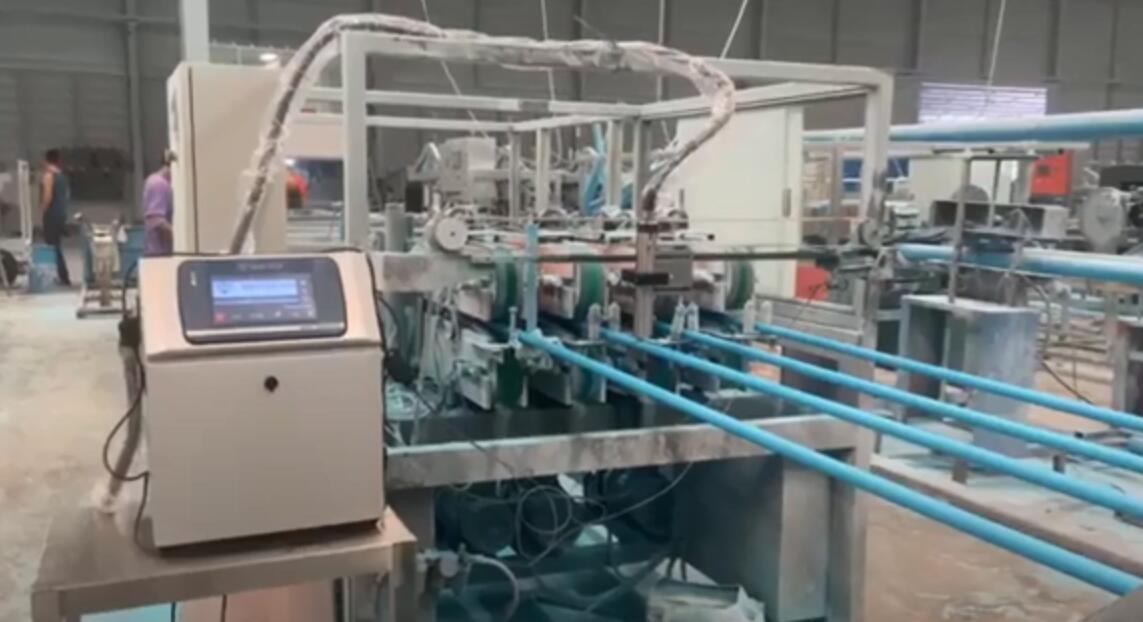 Lead Tech Lt800 Inkjet Batch Coding Machine For Pvc Pipe Printing In Thailand