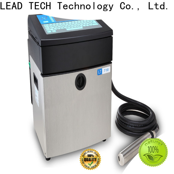 Leadtech Coding High-quality best batch coding machine Supply for pipe printing