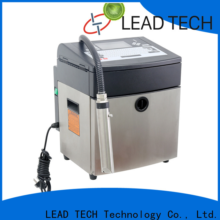 Leadtech Coding batch coding machine for water bottles professtional for food industry printing