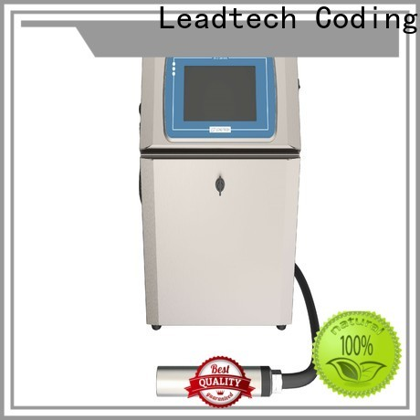 Leadtech Coding High-quality inkjet date printer Supply for tobacco industry printing