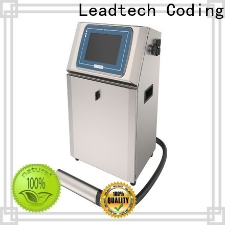 Leadtech Coding Best batch coding machine for pouch price for business for building materials printing