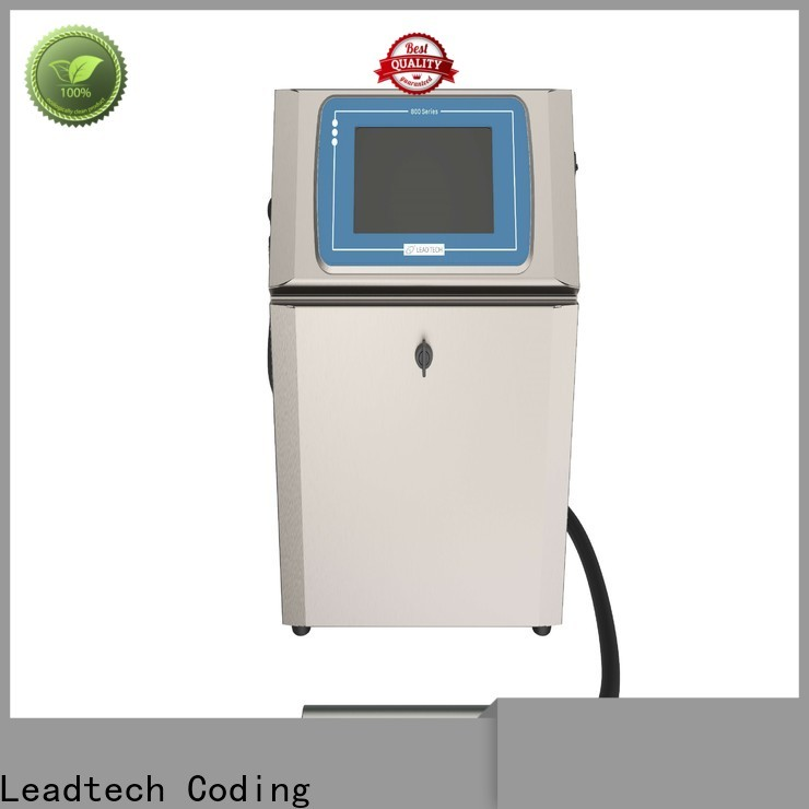 Leadtech Coding batch code machine price manufacturers for beverage industry printing