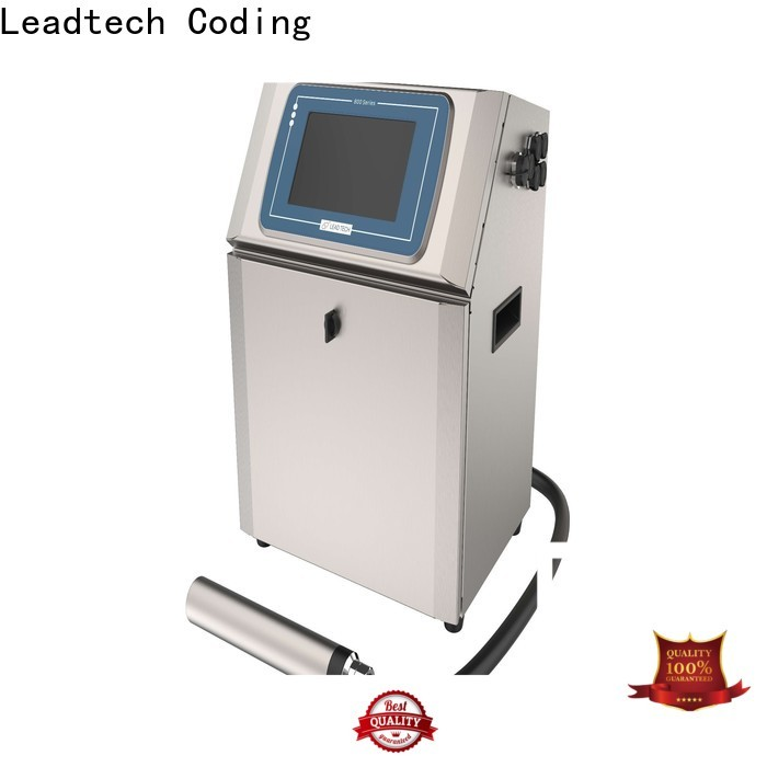 Leadtech Coding innovative date coding machine Supply for auto parts printing