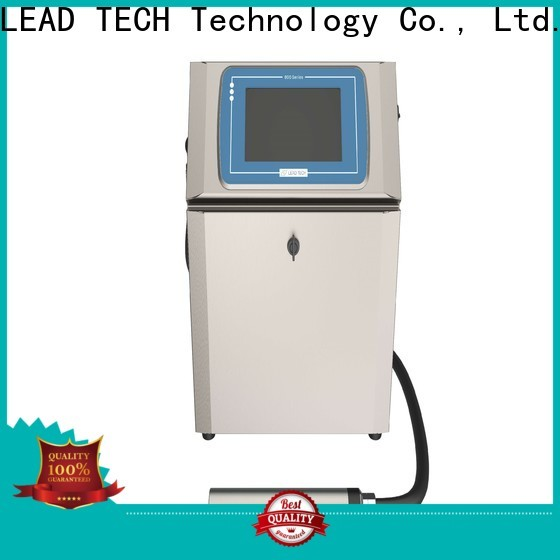 Leadtech Coding batch coding machine online professtional for tobacco industry printing