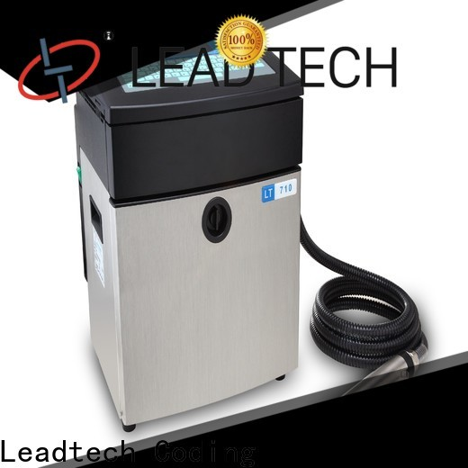 Leadtech Coding automatic round bottle labeling machine labeler with code printer company for food industry printing