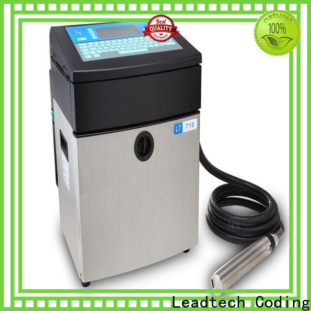 Leadtech Coding Wholesale date printing machine manufacturers for food industry printing