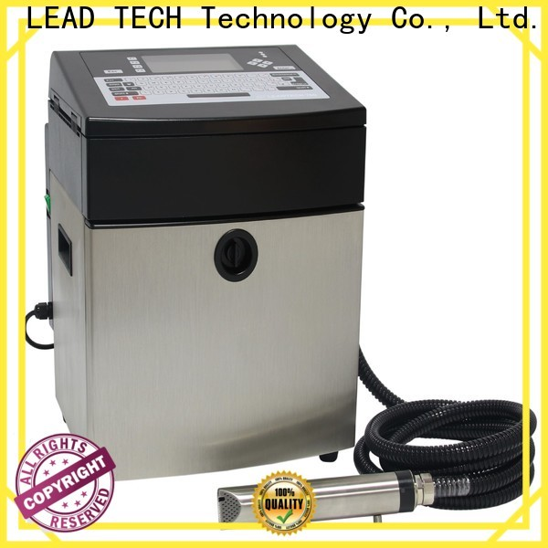 Leadtech Coding mrp printing machine on bottles manufacturers for food industry printing
