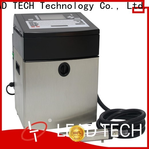 Leadtech Coding Latest hand date printing machine manufacturers for daily chemical industry printing