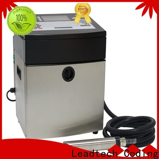 Leadtech Coding mrp date printing machine for business for daily chemical industry printing