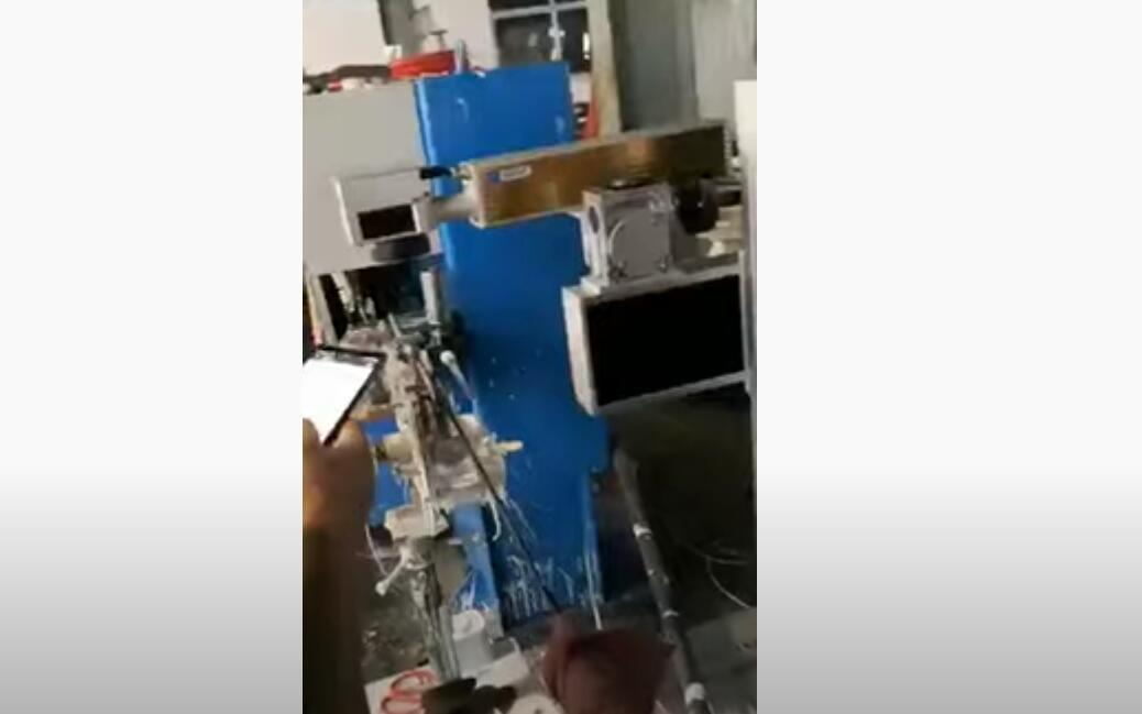 Pipe Printing by LEAD TECH CO2 Laser Printer