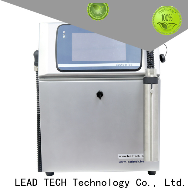 Leadtech Coding semi automatic batch coding machine for business for auto parts printing
