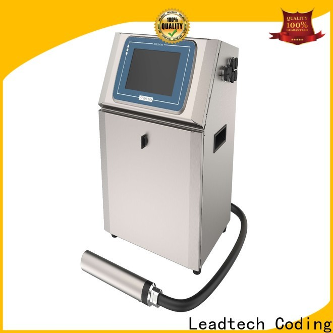 Leadtech Coding inkjet batch coding machine price factory for daily chemical industry printing