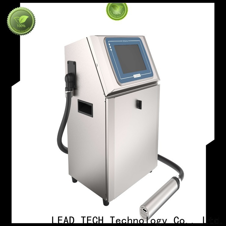 Leadtech Coding label batch coding machine professtional for household paper printing