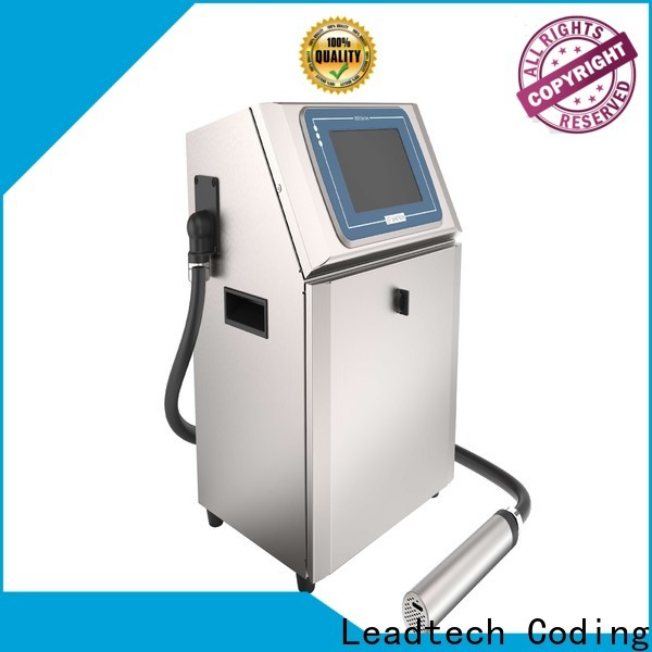 Leadtech Coding high-quality mrp and expiry date printing machine factory for drugs industry printing