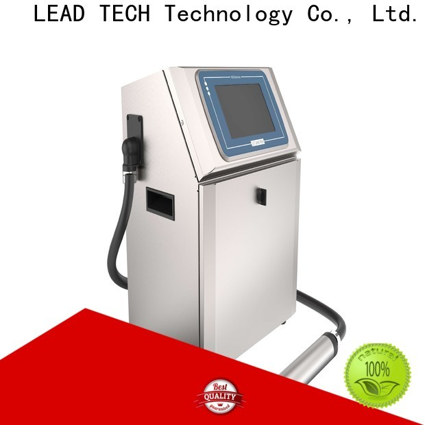 Leadtech Coding Best inkjet date printer factory for auto parts printing