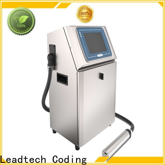 Leadtech Coding batch coder mini printer company for daily chemical industry printing