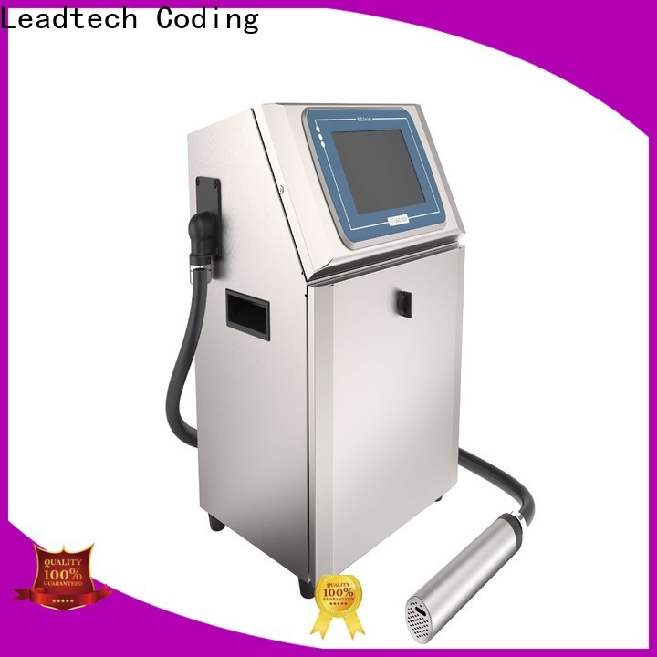 Leadtech Coding commercial mrp printing machine on bottles professtional for auto parts printing