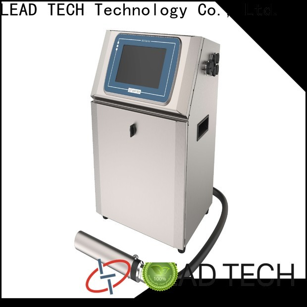 Leadtech Coding Wholesale batch coding machine for pouch packing machine custom for tobacco industry printing