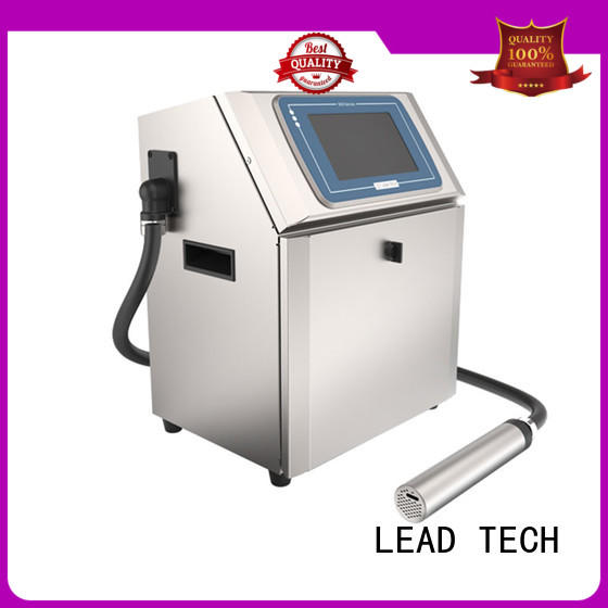 LEAD TECH dust-proof inkjet date code printer from best fatcory