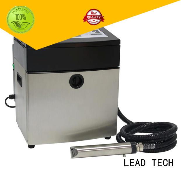 LEAD TECH printer continuous ink for sale custom for auto parts printing
