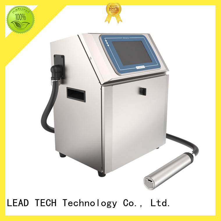 LEAD TECH high-quality industrial inkjet printer professtional reasonable price
