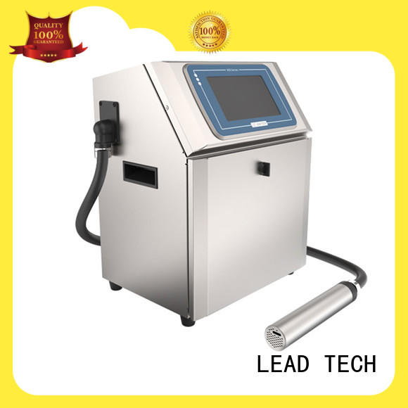 LEAD TECH dust-proof industrial inkjet printing machines at discount