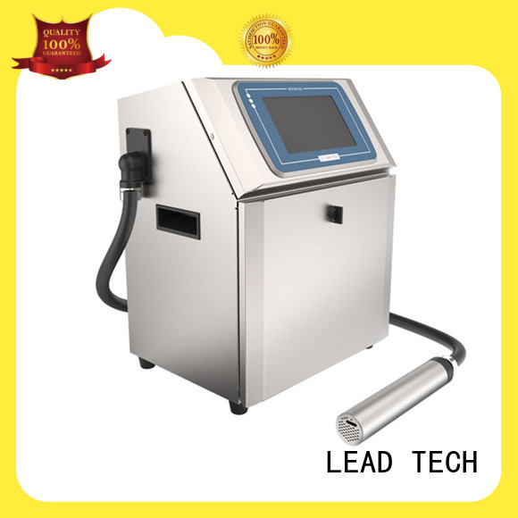 LEAD TECH innovative inkjet coding printer custom at discount