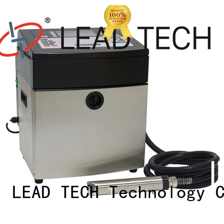 LEAD TECH printer definition factory for beverage industry printing