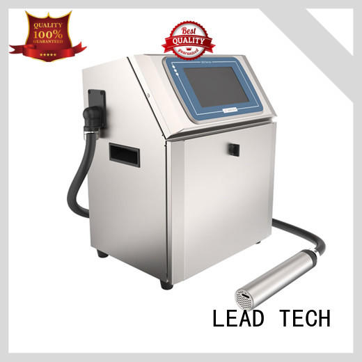 LEAD TECH hot-sale inkjet coding printer fast-speed from best fatcory