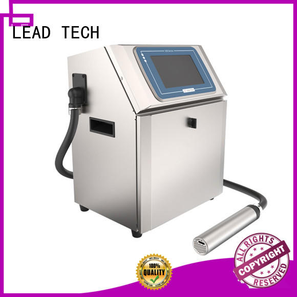 LEAD TECH inkjet coder easy-operated cooling structure