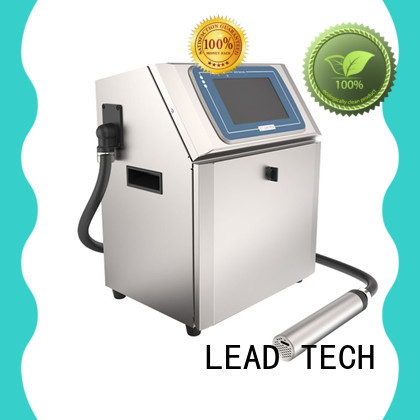 LEAD TECH hot-sale inkjet batch coding machine easy-operated reasonable price